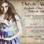 Dias de Alice neste sábado!