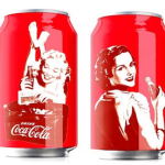 Pin ups na Coca Cola