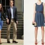 O (outro) vestido de Kate Middleton