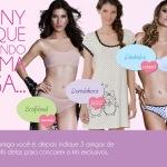 Sanny Underwear premiando você e suas amigas!