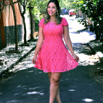 Redescobrindo o pink de vestido novo ♥
