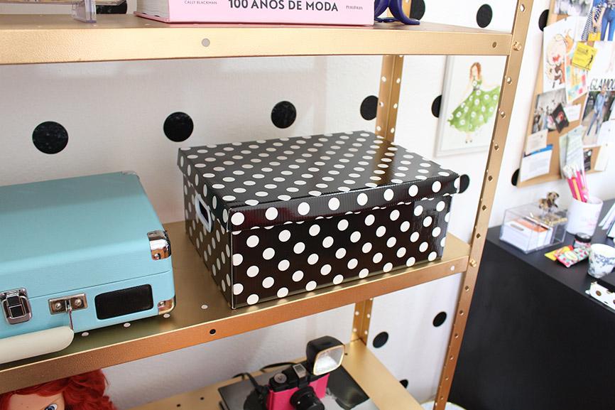 caixa organizadora de bolinhas
