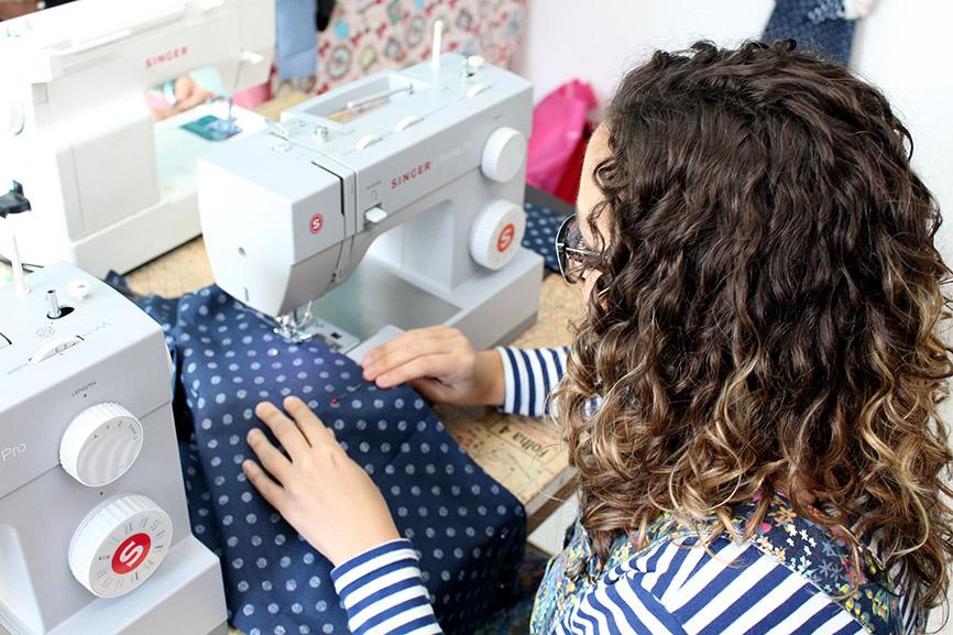 curso de costura hobby