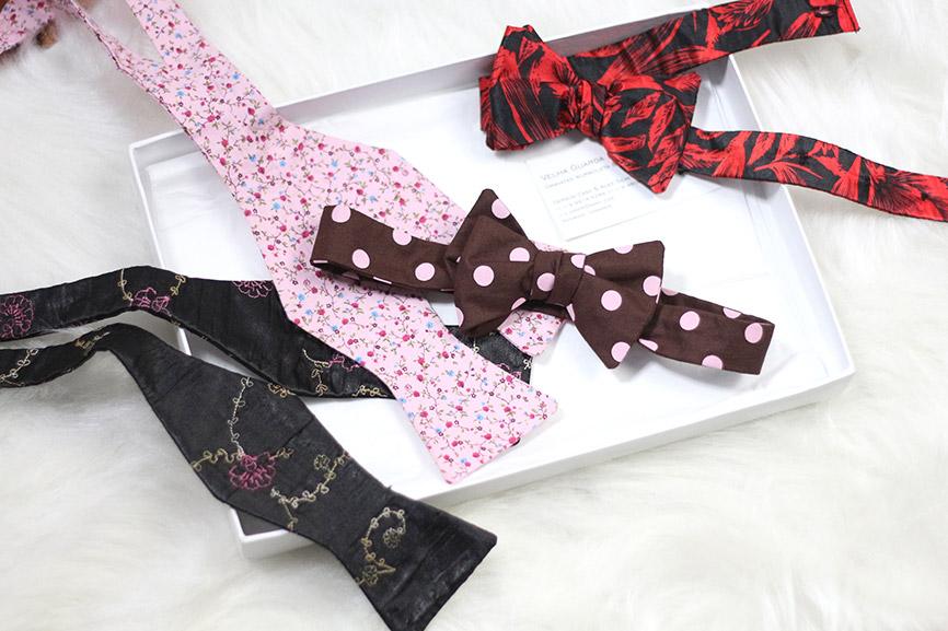 gravatas borboleta Velha Guarda Dândis