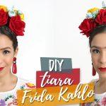 Vídeo – Aprenda a fazer uma tiara de Frida Kahlo para o carnaval