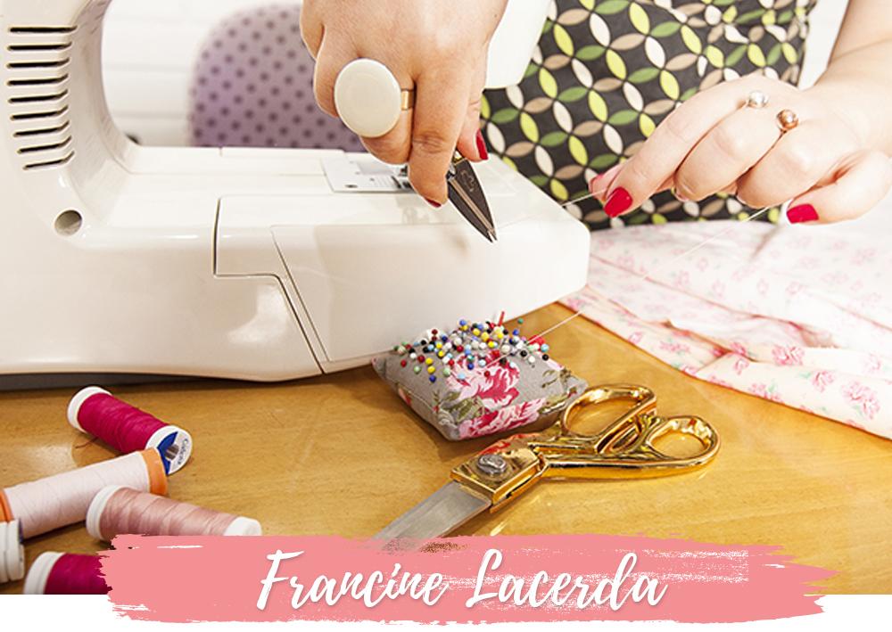 francine lacerda aulas de costura