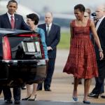 Looks de Michelle Obama no Brasil