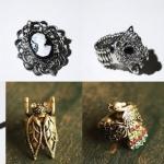 Os anéis e colares do Bleu Dame