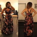 Look: Vestido longo colorido