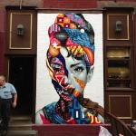 Audrey street art