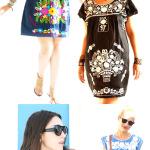 Desejo de verão antecipado: vestido mexicano