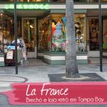 La France, meu primeiro brechó na Flórida!