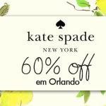 O outlet da Kate Spade em Orlando
