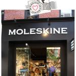 Papelaria e amor na loja da Moleskine em NY