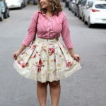 Look do Dia: Mix de estampas floral + vichy